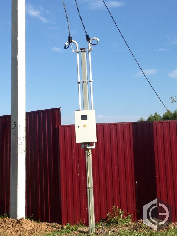 Объявление 41336933596 : установка опор лэп (электрических столбов)
